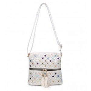 Izzy handbag White