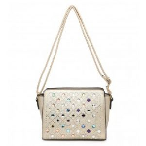 Izzy cross body bag gold