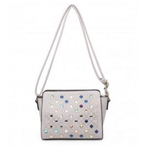Izzy cross body bag grey