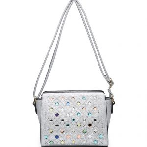 Izzy cross body bag silver