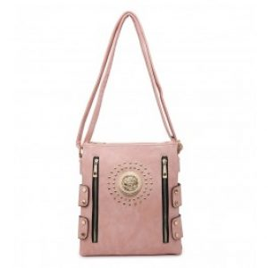 Crea messenger bag pink