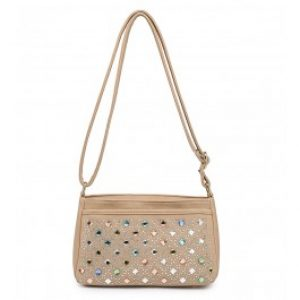 Izzy messenger bag gold