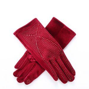 Wine sparkle gloves