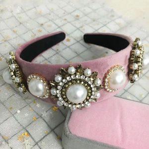 Vintage crown pink