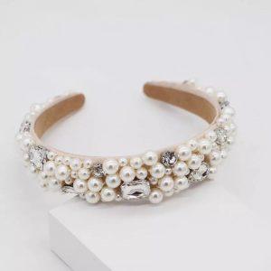 Classic pearl hairband