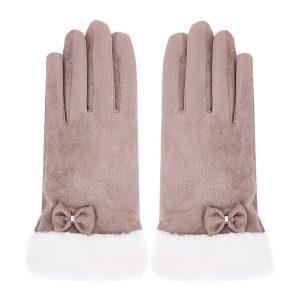 Khaki gloves