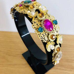Zara multicoloured crown