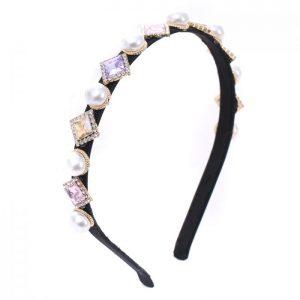 Pearl blush hairband