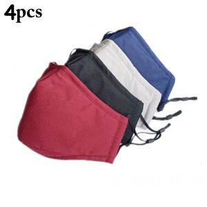 4pack cotton masks