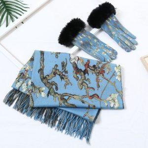 Blue twig matching set