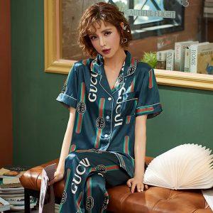 Designer inspired pyjamas Size 8-10