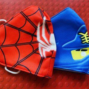 Kids twin pack masks